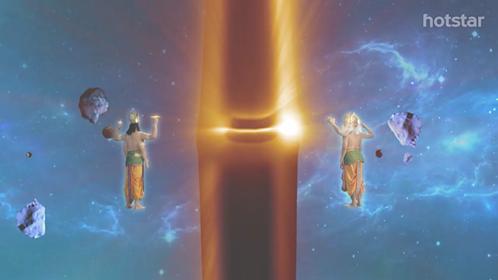 shiva pillar of fire