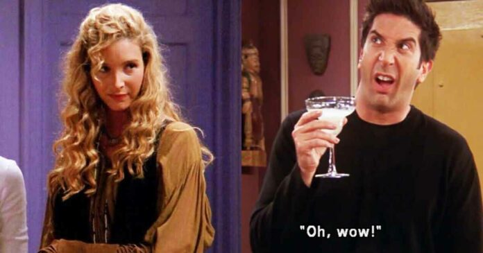 phoebe buffay roasting ross geller in friends