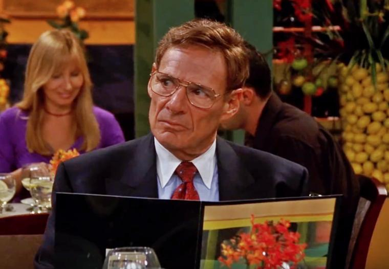 dr leonard green from friends series who played rachel's dad