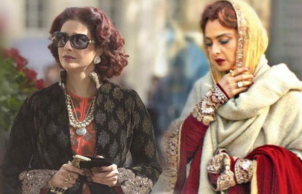 tabu replaced rekha in fitoor
