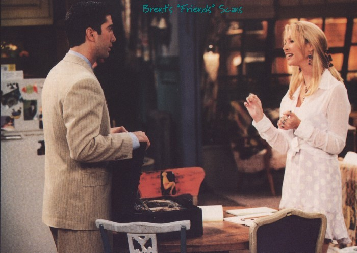 ross and phoebe