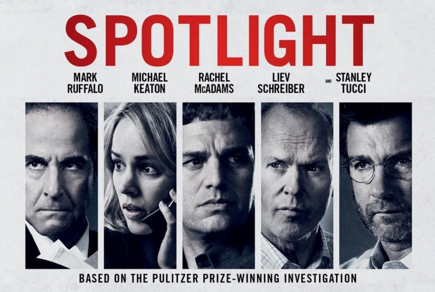 Spotlight rewatch this weekend