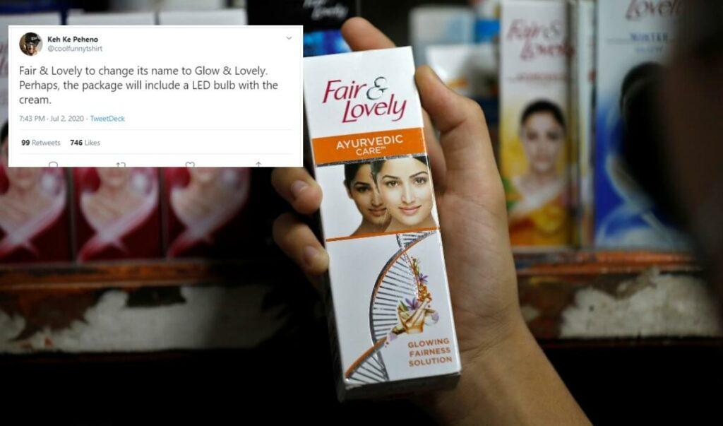 Unfairness cream