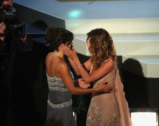 Jennifer and Courteney