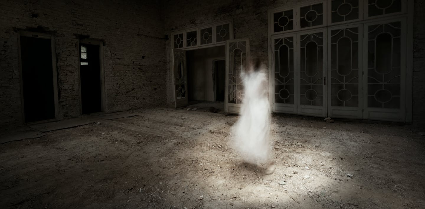 the ghost at home