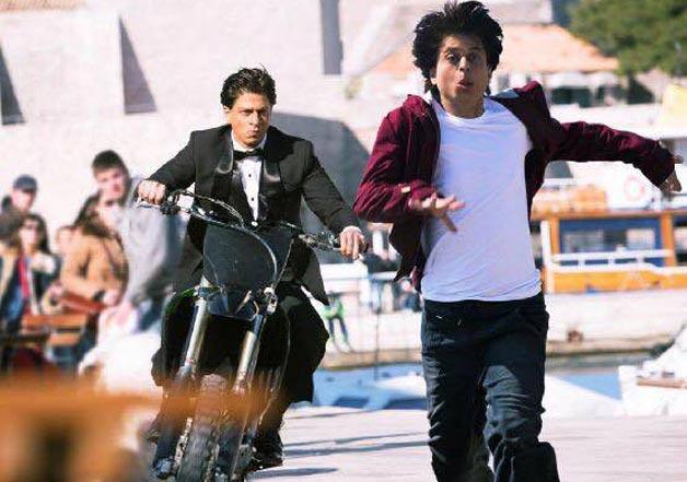 shah rukh khan stunt double