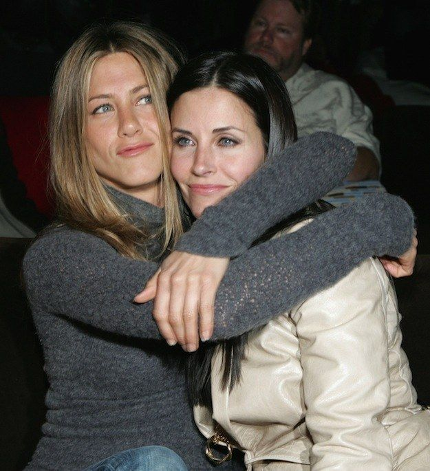 Courteney and Jennifer