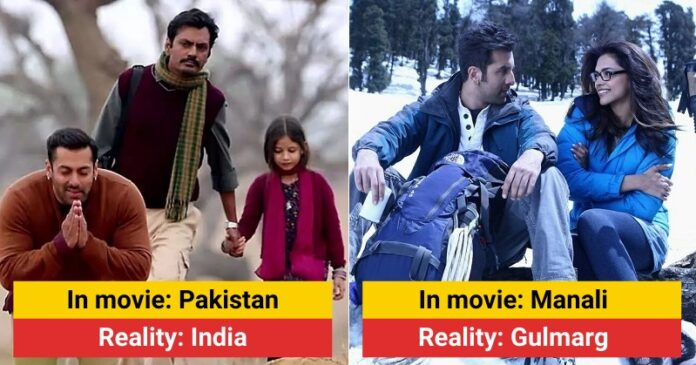 Bollywood Movies That Fooled Us With Fake Movie Locations