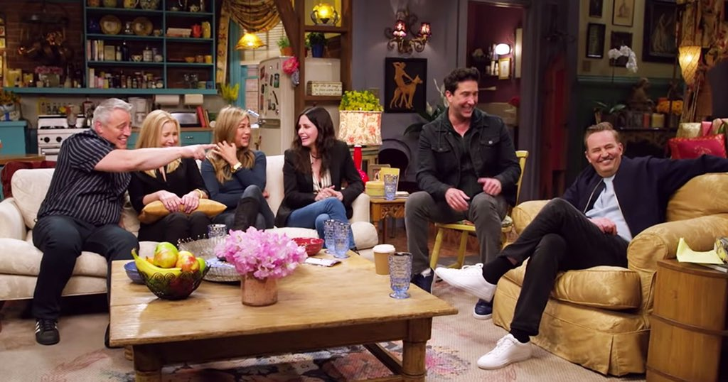 friends reunion streaming online