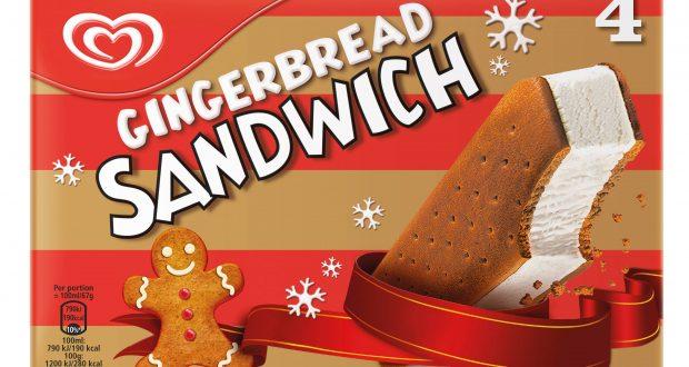 Gingerbread-Sandwich