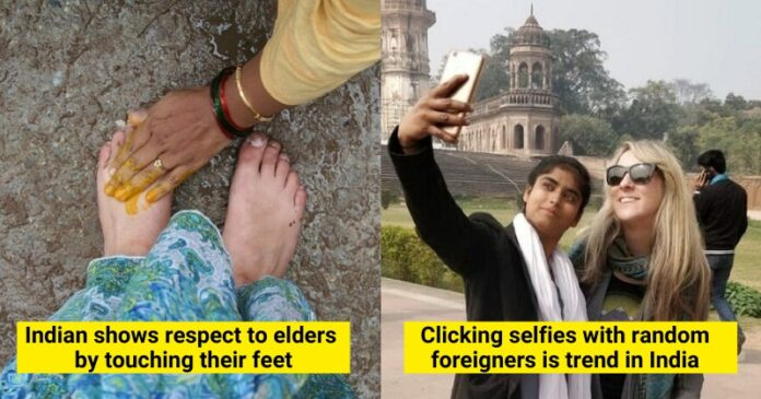 Indian cultures which foreigners find weird