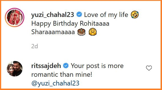 Ritika-Sajdeh-Reply-To-Chahal-Birthday-Post-Rohit