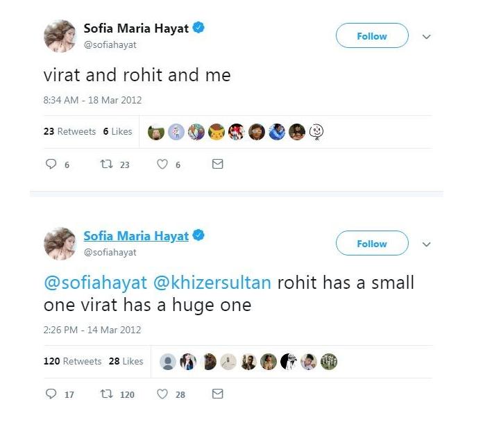 Sofia tweet