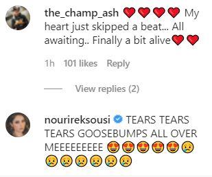 friends fan reaction on instagram