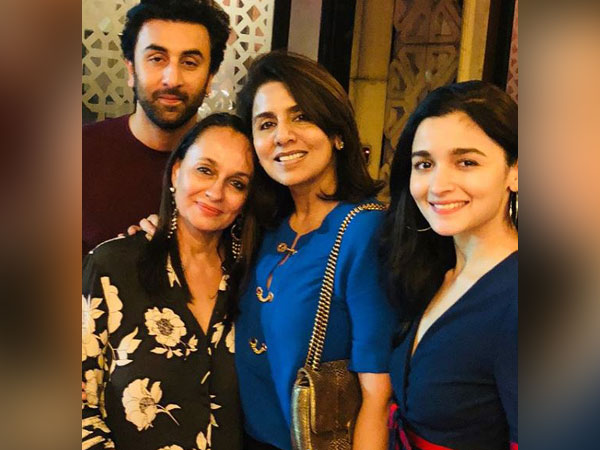 alia bhatt, ranbir kapoor and families