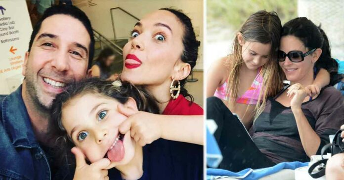 friends cast with their kids