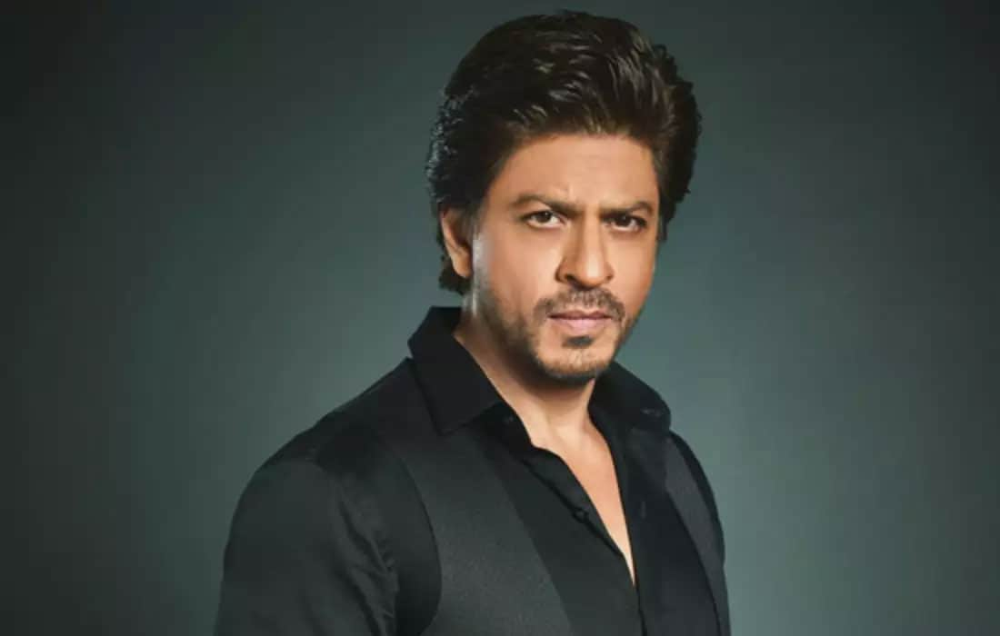 Shah Rukh Khan poses for a photoshoot
