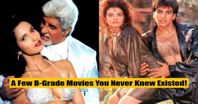 list of hilarious and odd b grade movies to have existed in bollywood