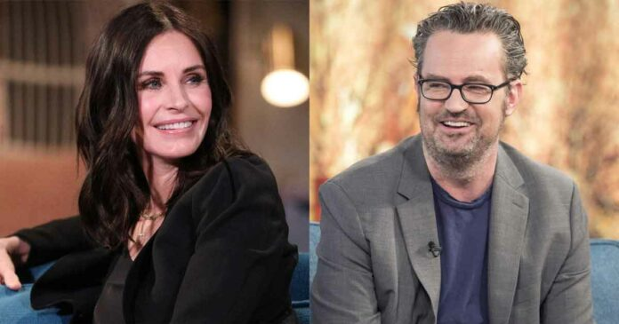 matthew perry and courteney cox planning to come together