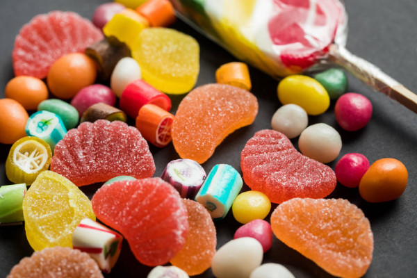 Colorful Jelly Sweets banned in America