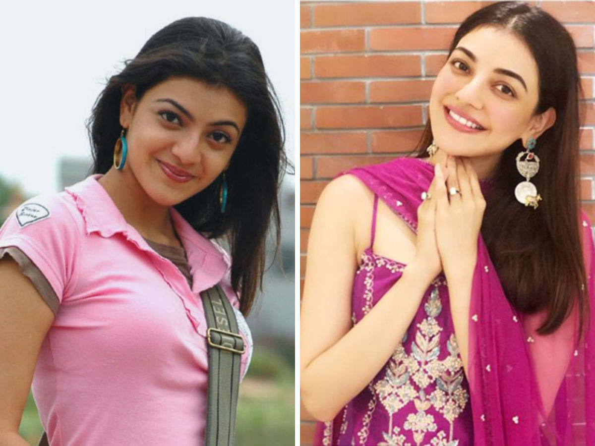 Kajal Aggarwal transformation after cosmetic surgery