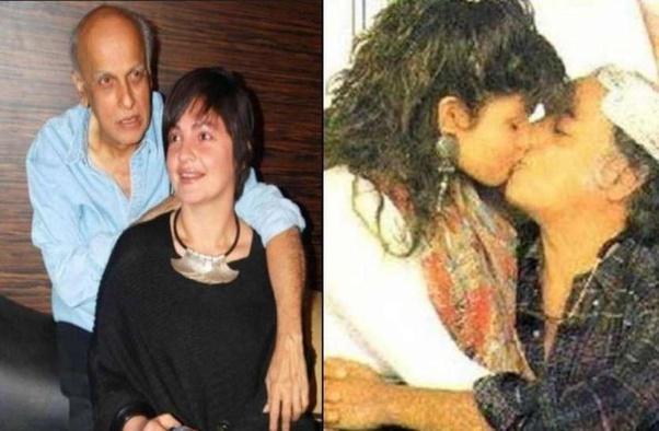 Kiss Of Mahesh Bhatt And Pooja Bhatt