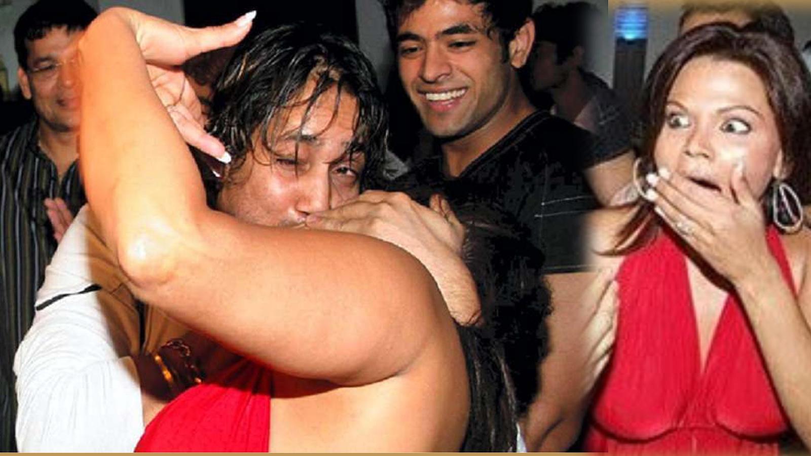 Kiss Of Rakhi Sawant & Mika Singh