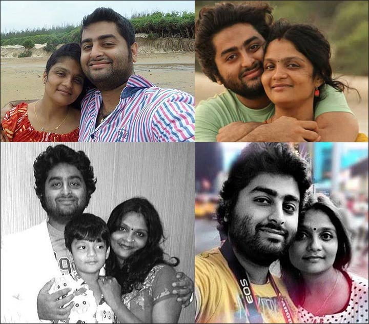 Koel-Roy-Arijit-Singh-Family