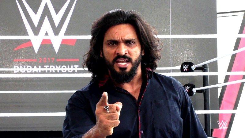 Saurav Gurjar in WWE NXT