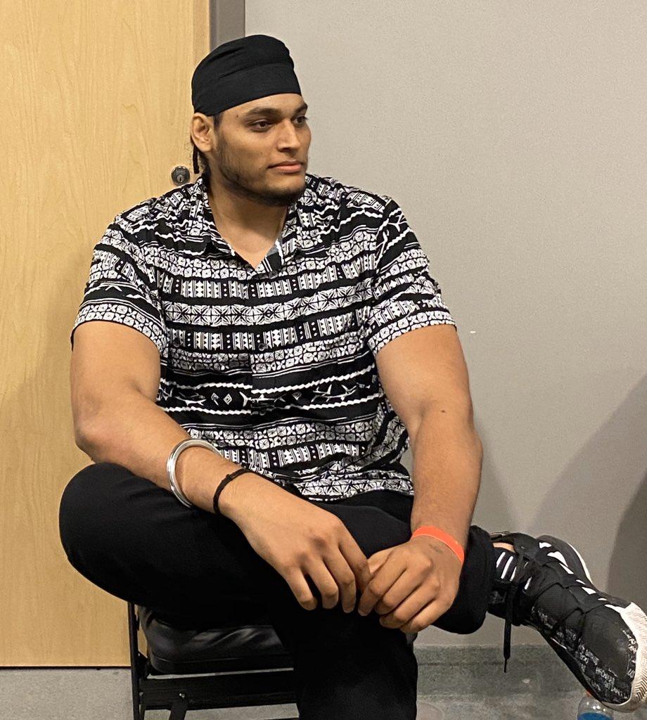 Shanky Singh Indian Wrestler