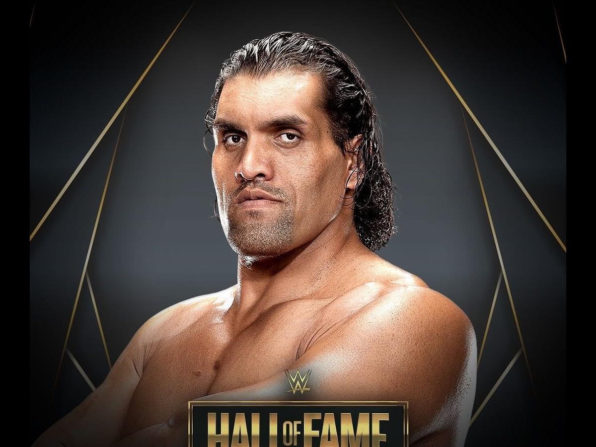 The great khali in WWE