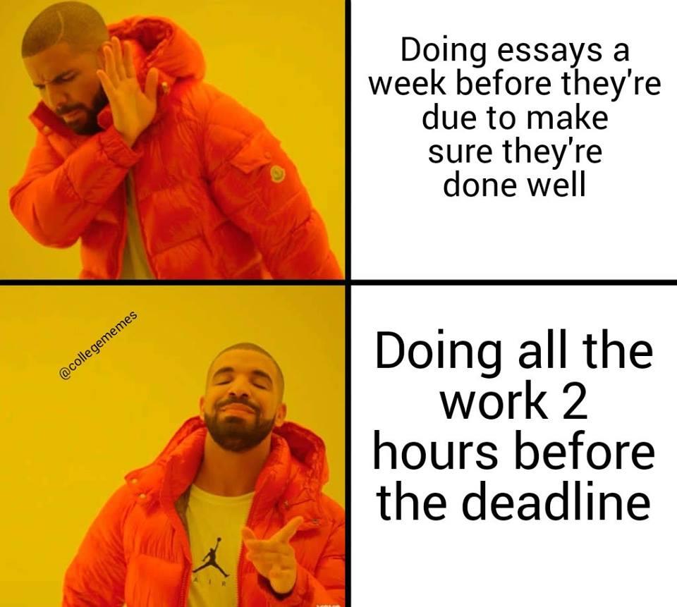 drake school meme