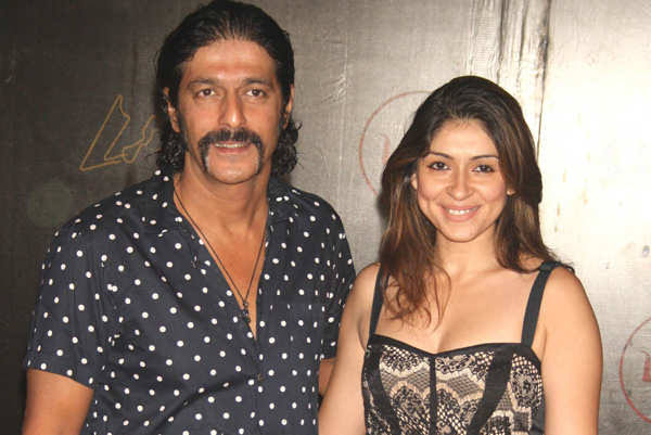 CHUNKY PANDEY is with BHAVANA PANDEY in real life after marriage