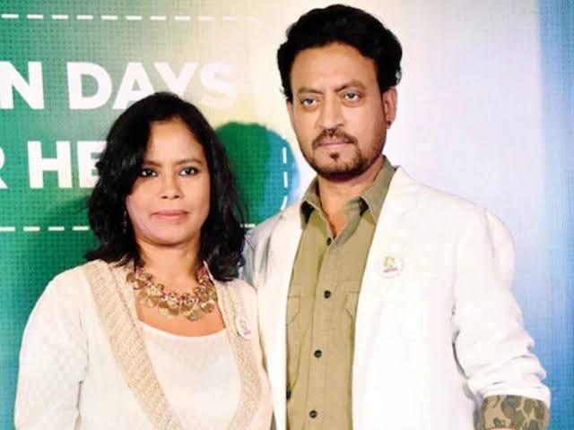 IRFAN KHAN and SUTAPA SIKDAR were happily married
