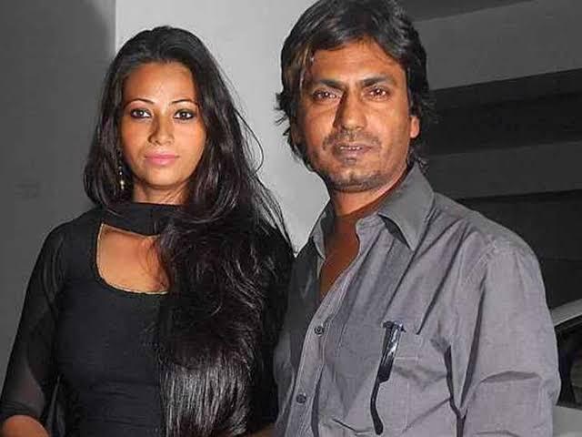 Nawazuddin Siddiqui had a first wife Anjali Siddiqui in real life