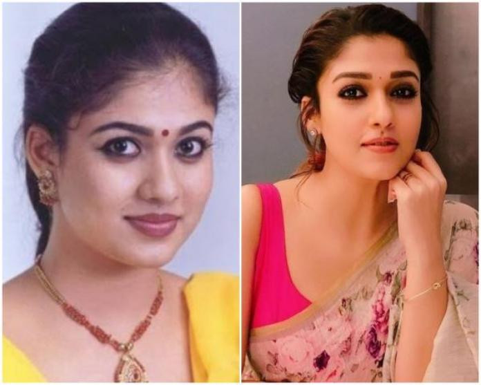 nayanthara plastic surgery changes visible in photos