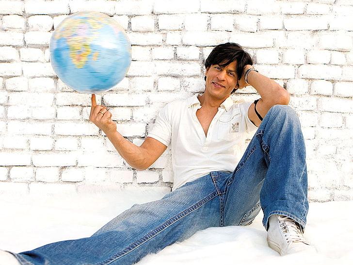 shahrukh khan in jeans