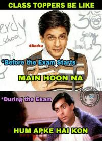 Class topper meme about school