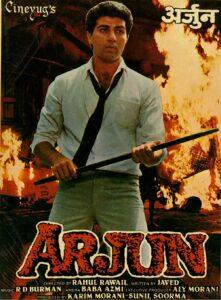 Arjun a indian film of sunny deol