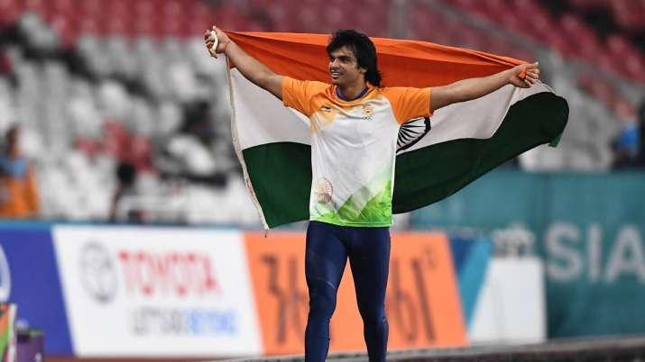 Neeraj Chopra In Tokyp Olympics 2020