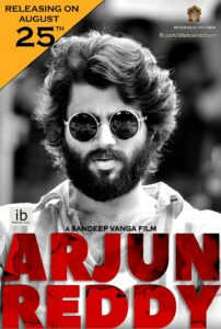 Arjun reddy is a popular South Indian movie also dubbed in Hindi