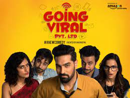 going viral pvt. ltd is a web series in hindi