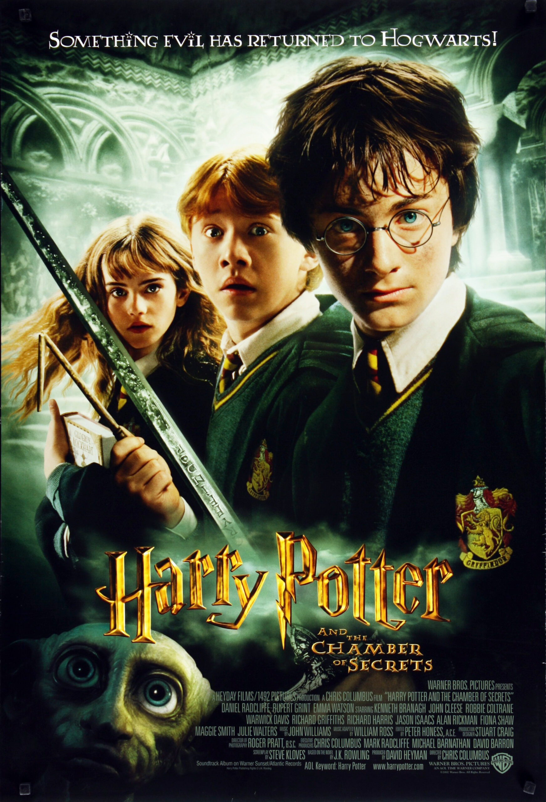 harry potter and chamber of secrets