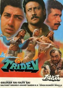 Tridev a indian movie of sunny deol