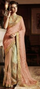 poses in saree for girl