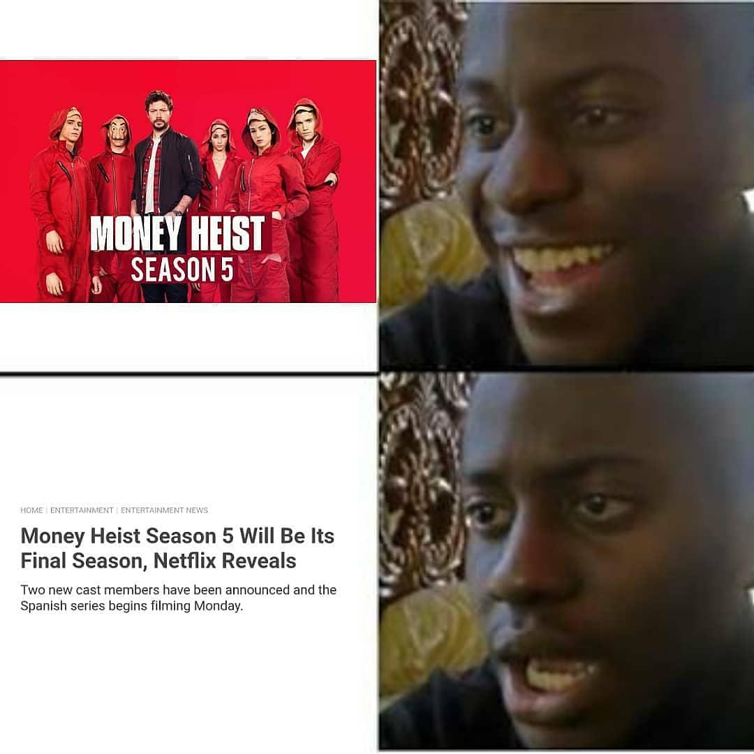 memes on money heist