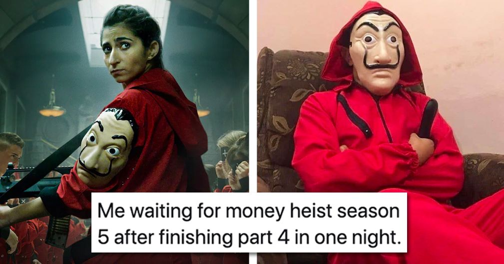 money heist memes