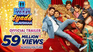 the next new hindi comedy movie is shubh mangal Zyada Saavdhan