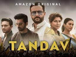 Tandav is on Amazon Prime