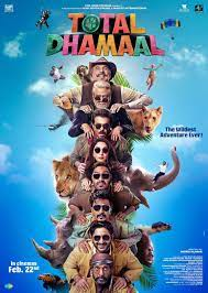 total dhamaal is on the list of Indian comedy movies